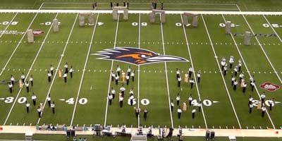 Live Examples - Drill Examples - Gulf Coast Drill Design - Industrial High School - 2015 Circle of Stones State Performance
